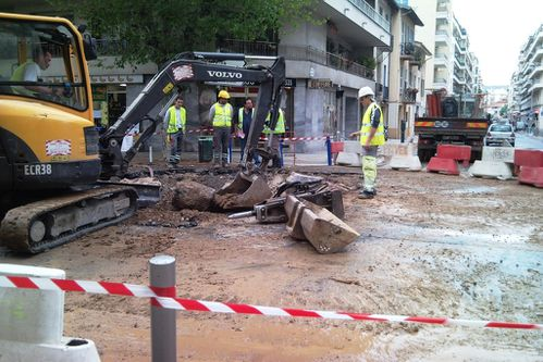 Explosion canalisation Grosso