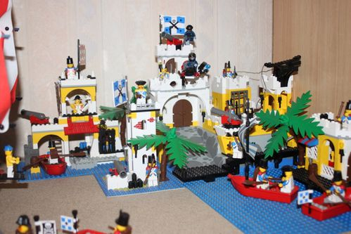 LEGO 6263 Pirates Imperial Outpost 16