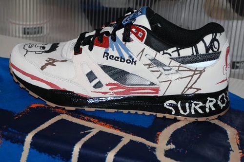 Collection Basquiat pour Reebok Automne Hiver 2010