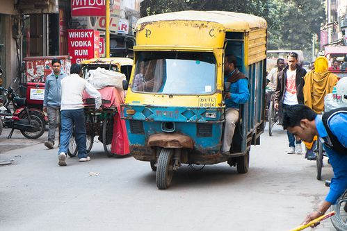 Inde, Delhi, Main Bazar, Pahar Ganj