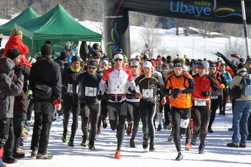4 D+®part 22 km snow trail Ubaye Salomon 2013 photo Robert