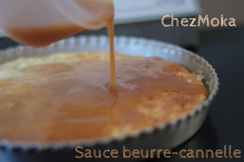 Sauce beurre cannelle