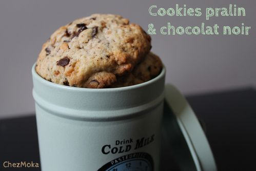 Cookies chocolat noir