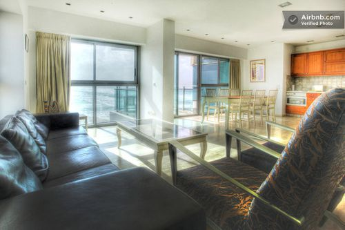 APT1 spacious 3 rooms for rent with sea view