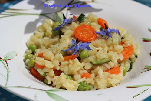 risotto aux l gumes de printemps cuisine guylaine. Black Bedroom Furniture Sets. Home Design Ideas