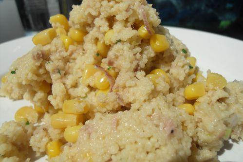 salade riz mais thon