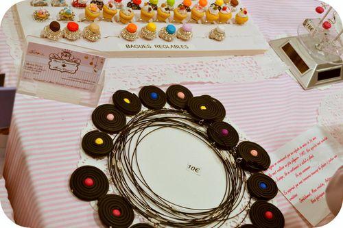 bijoux à croquer Lille salon du chocolat