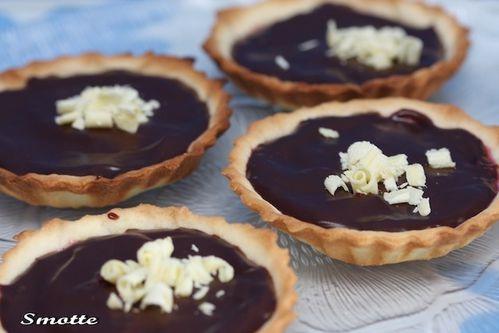 Tartelettes Choco-Framboises