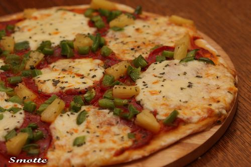 Pizza hawaienne