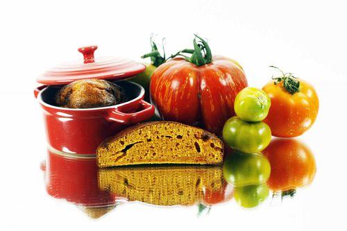 pain cocotte à la tomate