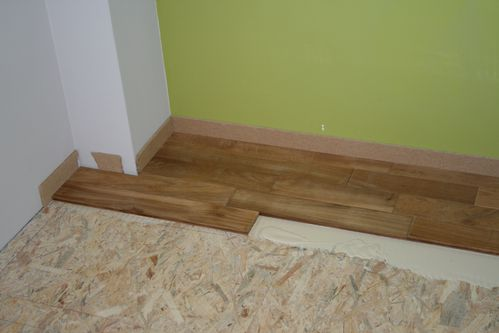 Parquet le blog de lulunono for Coller carrelage sur osb