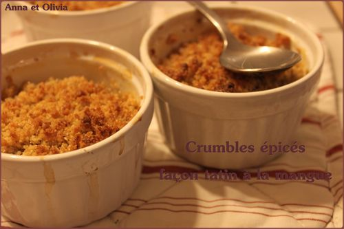 crumble mangue