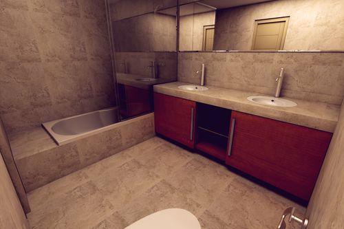 Baño Principal [ Edificio Buenavista ]