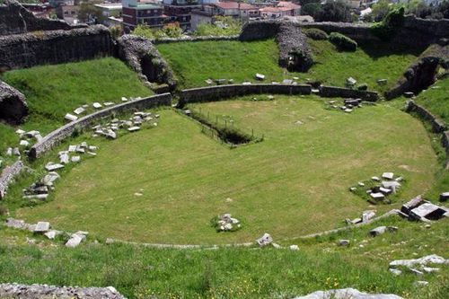 489a Montecassino, amphithéâtre antique