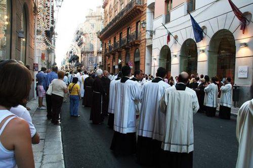 572f6 Palerme, procession de santa Rosalia