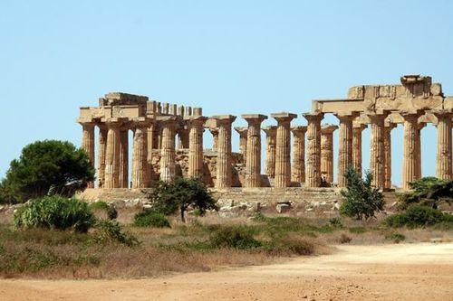 587a2 Sélinonte, temple de Héra