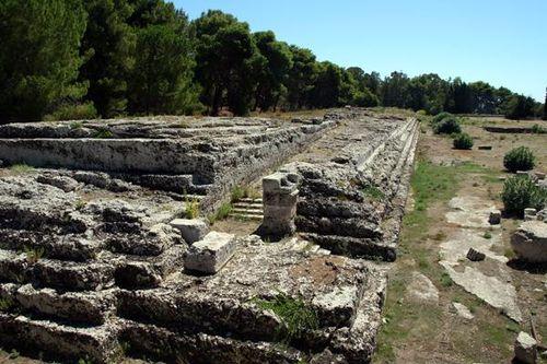 605a Syracuse, autel de Hiéron II (3e siècle avt JC)