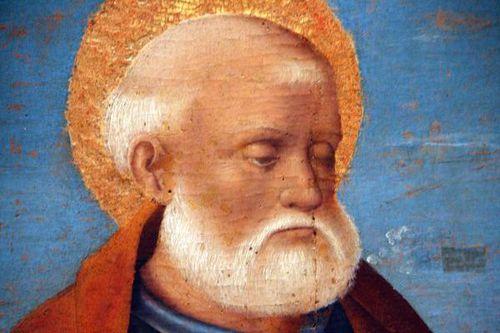 615d1c Salvo di Antonio, Vierge à l'Enfant, st Jean, st Pi