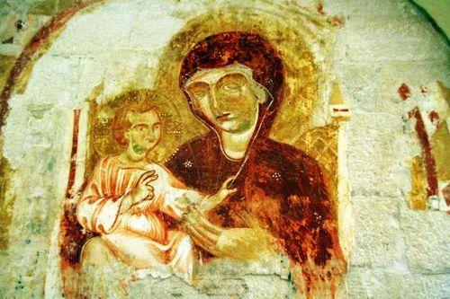 630e4 Crypte haute de la cathédrale de Trani