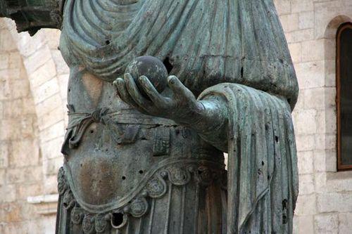 631c3 Barletta, le Colosse