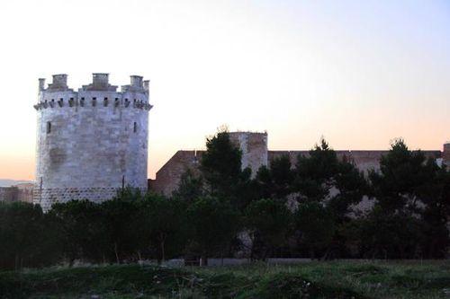 634g1 Lucera, le château souabe
