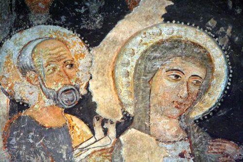 642h4 Bitonto, cathédrale, crypte, présentation au temple