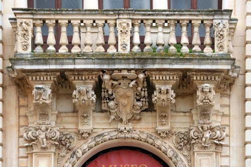 649f4b Lecce, seminario (museo diocesano)