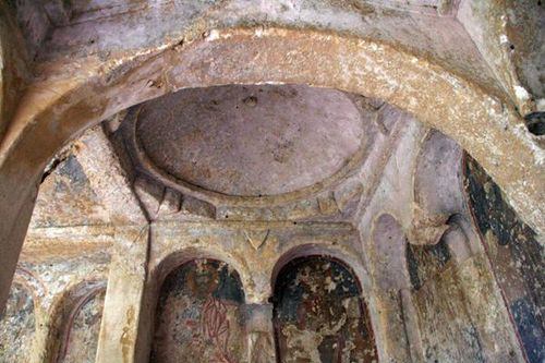 655d3 Massafra, église rupestre de la Candelora