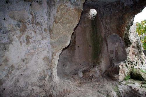 655e2 Massafra, cellule rupestre d'ermite