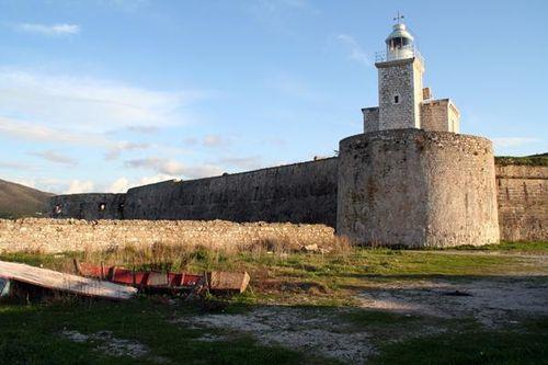 675b1 fort Sainte-Maure devant Leucade