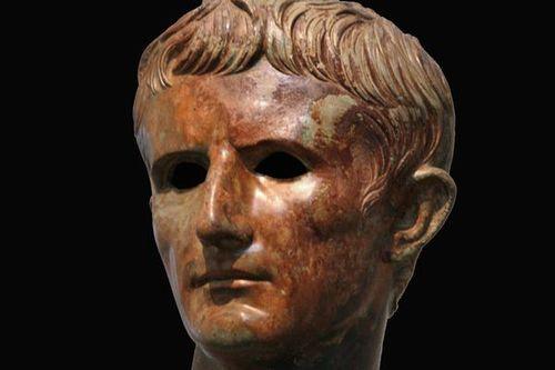 682f5 Statue d'Auguste (détail), 12-10 avt JC
