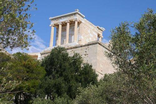 683d3 Athènes, temple d'Athéna Nikè