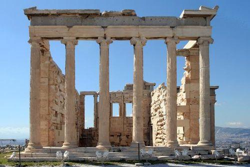 683g4 Athènes, Acropole, l'Erechtheion