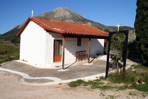 685b2 Chapelle, à Mycènes