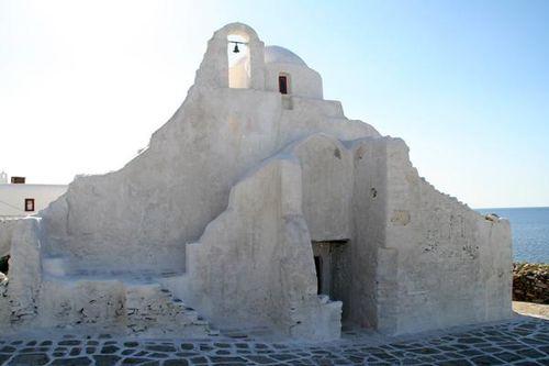 688g3 Mykonos, église Paraportiani