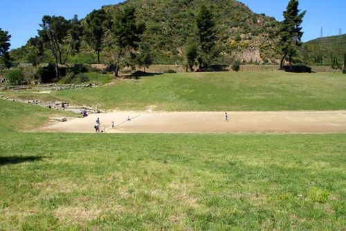 701i3 Le stade d'Olympie