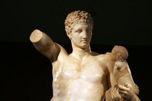 702g5b Musée d'Olympie, Hermès de Praxitèle