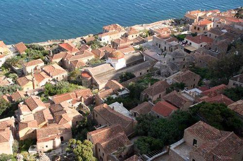706b5 Monemvasia, la ville basse