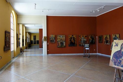719f1 Zante, musée byzantin