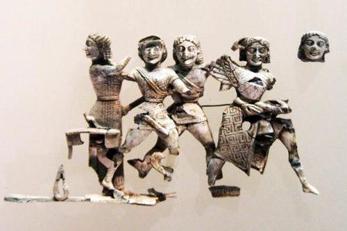 721h2 Delphes, les fils de Borée chassent les Harpyes (ver