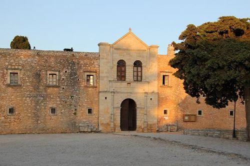 728a2 Monastère d'Arcadia (Crète)
