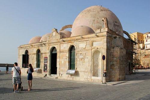 729c2 La Canée (Chania, Crète), la mosquée