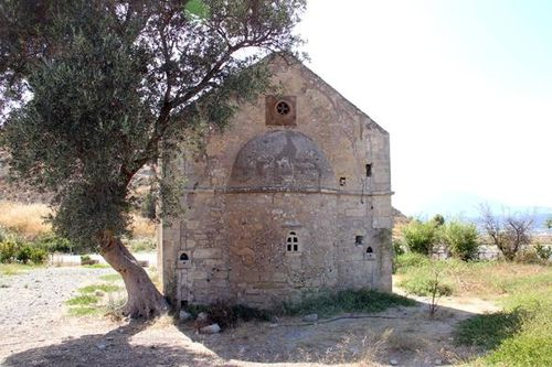 732h3 Phaistos, église Saint Georges