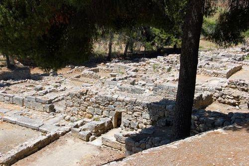 734a Agia Triada (Crète), vue générale