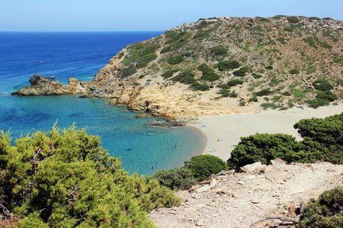 735f4 plage près de Vaï, en Crète