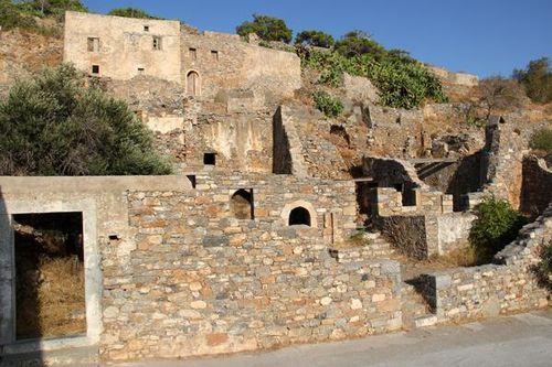 738h4 Spinalonga (Crète), île des lépreux, anciennes ré