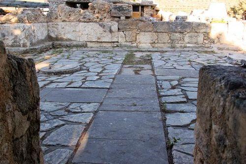 741d1 Cnossos, porche ouest