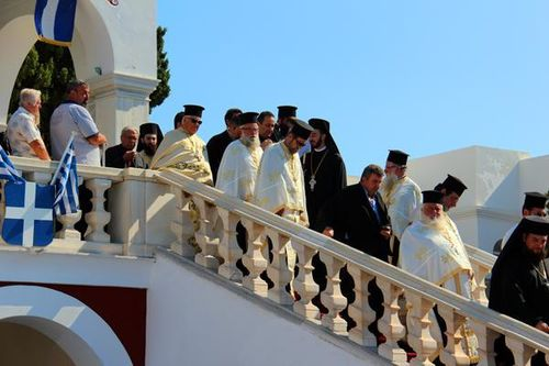 746e1 Le 15 août à Tinos