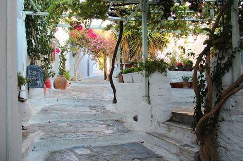 753d3 île d'Amorgos, Chora