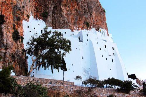 753g4 Amorgos, monastère de la Panagia Chozoviotissa